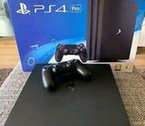 Clean brown new PlayStation 4 pro with carton call or Whatsapp 0