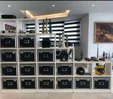 Layered Display shelf