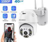 4G Sim PTZ Motion Recording Ip Camera With Auto Tracking