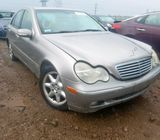 2004 MERCEDES-BENZ C 240 CALL 07045512391