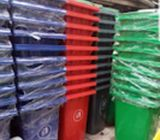 240 Liter Plastic Wheeled Waste Can/Waste Bin/Garbage Container