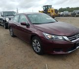 clean honda accord 2013