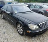 2005 MERCEDES-BENZ S 430 4MATIC,,,,, FOR SALE CALL ,,,,,07045512391