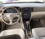 Foreign used 2005 Silver color Toyota Corolla