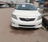 Foreign Used White 2010 Toyota Corolla Sport