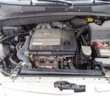 Foreign used 2001 Toyota Sienna