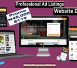 Promo for Ad Listings Website Design WordPress Classified Ads