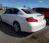 INFINITI G37  FOR SALE AT AUCTION CALL 09060118688