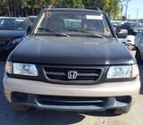 2001 HONDA PASSPORT EX (PASSPORT E-X) FOR SALE CALL:07045512391
