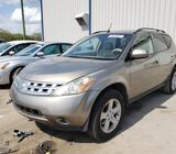 NISSAN MURANO 2004 FOR SALE AT AUCTION CALL 09060118688