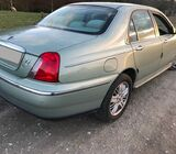 Barely used rover& neat Rover 75 for 800k neg