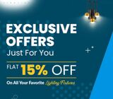 April Clearance Sale | Flat 15% Off | Precise Lighting