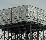 FRP / GRP  and AND PRESSED STEEL WATER STORAGE TANK