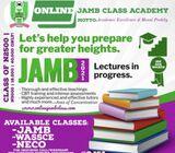 ONLINE JAMB CLASS ACADEMY